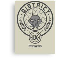 Prawn District (HG Parody) Canvas Print