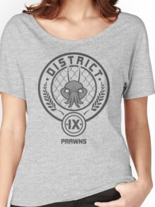 Prawn District (HG Parody) Women's Relaxed Fit T-Shirt
