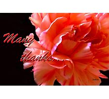 Many Thanks Photographic Print