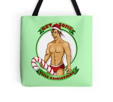 Christmas Candy Andy Tote Bag
