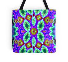 CVD0097 Bent Arne Psychedelic Art Colorful Vivid Tote Bag