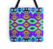 CVD0096 Bent Are Psychedelic Art Colorful Vivid Tote Bag