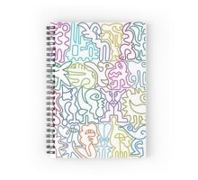 Colorful Pile Spiral Notebook