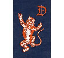 Original Detroit Tigers Logo (Unofficial) Photographic Print