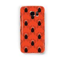 Halloween spiders simple pattern. Cute seamless background.  Samsung Galaxy Case/Skin