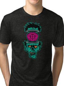 Shoot 'em in da Head Bro! Tri-blend T-Shirt