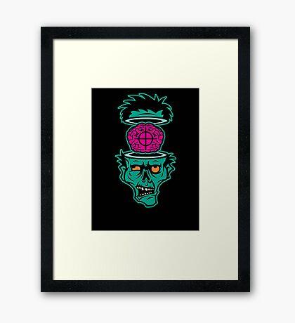 Shoot 'em in da Head Bro! Framed Print