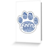Penn State Paw Greeting Card