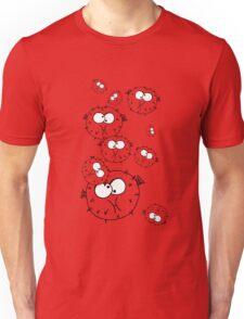 Cartoon Stone Fish Doodle Unisex T-Shirt