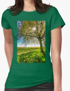 The Daffodil Summer Farm Womens Fitted T-Shirt