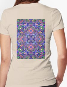 Lilac Summer Womens Fitted T-Shirt
