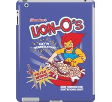 Lion-O's Cereal iPad Case/Skin