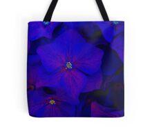 Blue ortensia Tote Bag