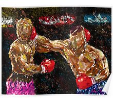 Boxers in action Poster
