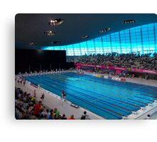 London Olympic Pool 2012 Canvas Print