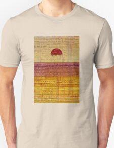 High Desert Horizon original painting Unisex T-Shirt