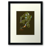 Eco-Robo Unit  #24 Framed Print