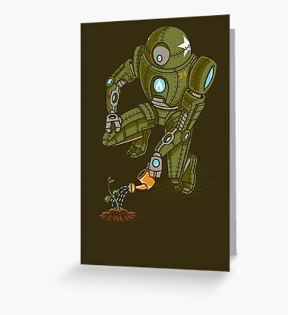 Eco-Robo Unit  #24 Greeting Card