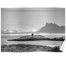 Lofoten Lighthouse Poster