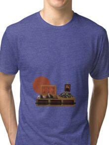 Cool cat funeral Tri-blend T-Shirt