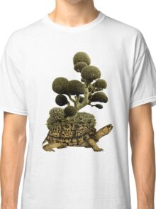 A Turtle Transporting Topiary Classic T-Shirt