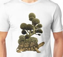 A Turtle Transporting Topiary Unisex T-Shirt