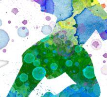 Watercolor Peter Pan Sticker