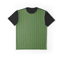 Wild blackberries with green background Graphic T-Shirt