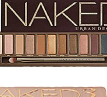 Urban Decay Naked 1, 2 & 3 Sticker