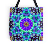 CVD0090 Bent Adrian Psychedelic Art Colorful Vivid Tote Bag
