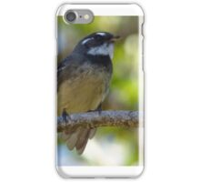 Grey Fantail iPhone Case/Skin