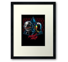 Robot Rock Framed Print