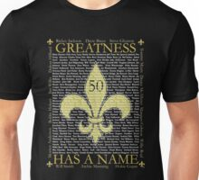 Saints 50th Anniversary Unisex T-Shirt