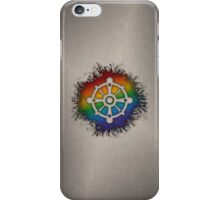 LGBT Buddhist Wheel of Dharma  iPhone Case/Skin