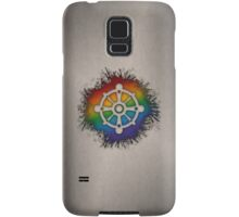 LGBT Buddhist Wheel of Dharma  Samsung Galaxy Case/Skin