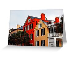 Charleston Scene-555367 Greeting Card