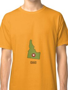 Idaho State Heart Classic T-Shirt