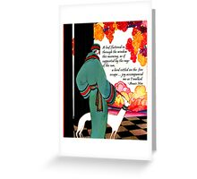 Joy Quote by Anais Nin Greeting Card