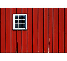 Red Barn Wall Photographic Print