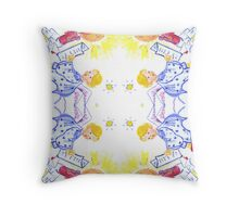 CVD0088 Angels Reading Letters In Candle Light Throw Pillow