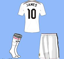James Rodriguez Real Madrid grid by maxiii23