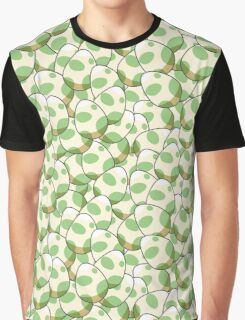 Pokemon Egg Pattern Graphic T-Shirt
