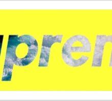 Supreme Waves  Sticker