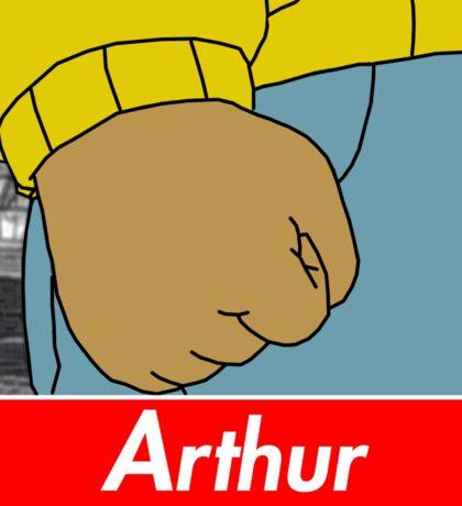 Arthur X Supreme Sticker
