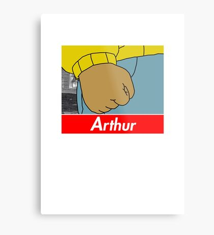 Arthur X Supreme Metal Print