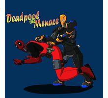 Deadpool the Menace Photographic Print