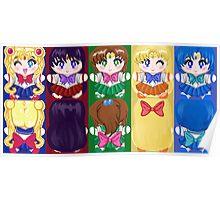 Sailor Scouts Inner Senshi Poster