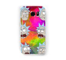 Trippy Psychedelic Rick Sanchez Expressions Samsung Galaxy Case/Skin