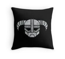 Dovahkiibot (distressed) Throw Pillow