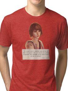 note life is trange t-shirts Tri-blend T-Shirt